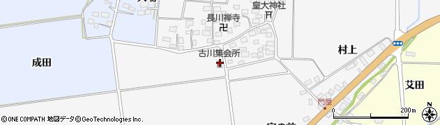 山形県酒田市刈穂机田19周辺の地図