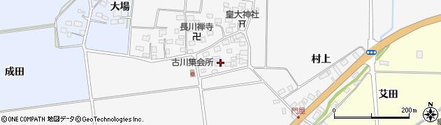 山形県酒田市刈穂古川55周辺の地図