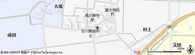 山形県酒田市刈穂古川58周辺の地図