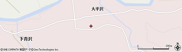 山形県酒田市下青沢大平沢20周辺の地図