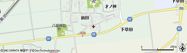 山形県酒田市保岡前田9周辺の地図