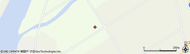 岩手県一関市川辺藤後向周辺の地図