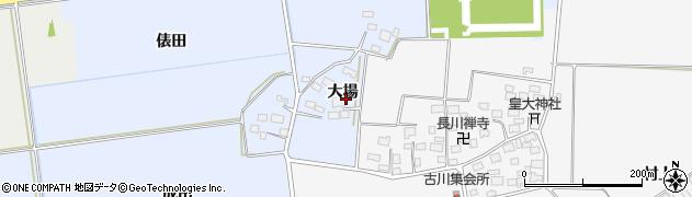 山形県酒田市城輪大場12周辺の地図