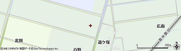 山形県酒田市保岡百野周辺の地図