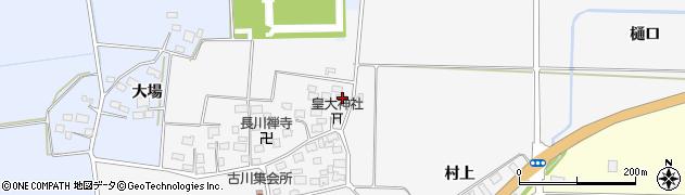 山形県酒田市刈穂古川43周辺の地図