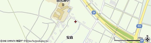 山形県酒田市宮海安政283周辺の地図