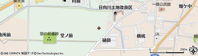 山形県酒田市法連寺周辺の地図