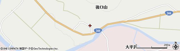 山形県酒田市大蕨前田4周辺の地図