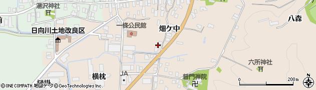 山形県酒田市市条村ノ前20周辺の地図
