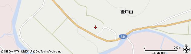 山形県酒田市大蕨後ロ山20周辺の地図