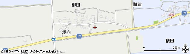 山形県酒田市豊原福升田58周辺の地図