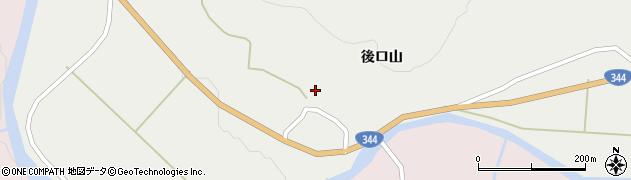 山形県酒田市大蕨後ロ山11周辺の地図