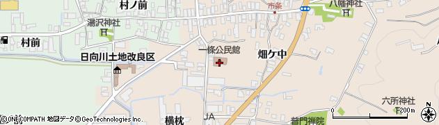 山形県酒田市市条村ノ前周辺の地図