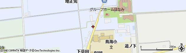 山形県酒田市本楯地正免151周辺の地図
