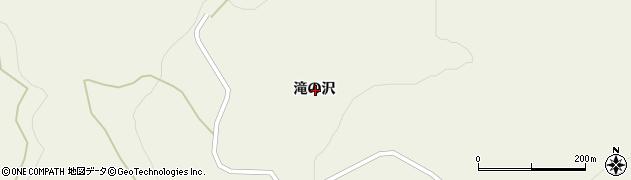 岩手県一関市室根町折壁滝の沢周辺の地図