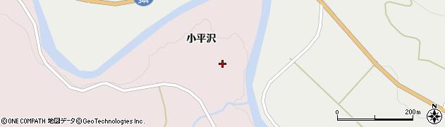 山形県酒田市下青沢小平沢周辺の地図