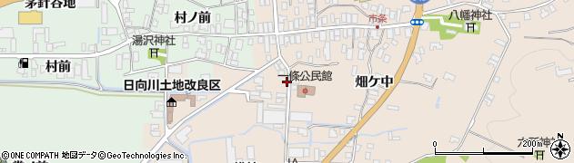 山形県酒田市市条村ノ前50周辺の地図