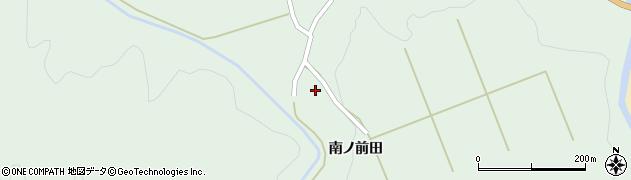 山形県酒田市上青沢姥ケ沢周辺の地図