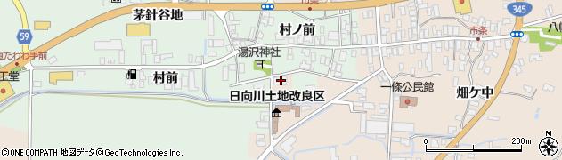 山形県酒田市市条村ノ前59周辺の地図