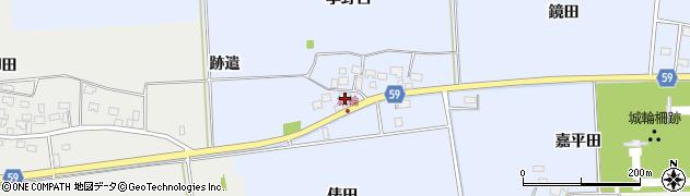 山形県酒田市城輪俵田29周辺の地図