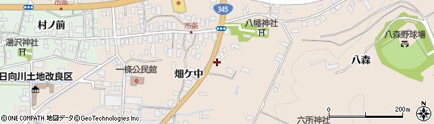 山形県酒田市市条水上8周辺の地図
