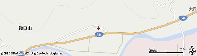 山形県酒田市大蕨脇38周辺の地図