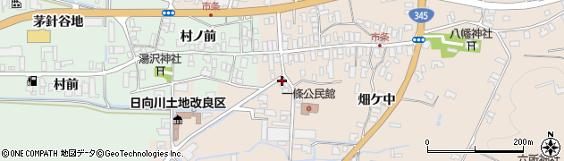 山形県酒田市市条村ノ前49周辺の地図