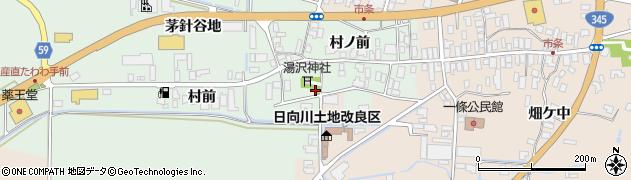 山形県酒田市法連寺(村前)周辺の地図