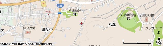 山形県酒田市市条山本1周辺の地図