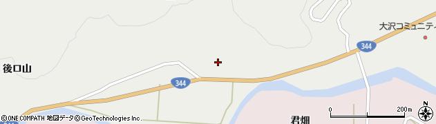 山形県酒田市大蕨脇56周辺の地図