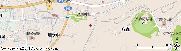 山形県酒田市市条水上2周辺の地図