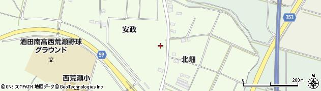 山形県酒田市宮海安政300周辺の地図