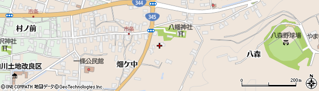 山形県酒田市市条水上14周辺の地図