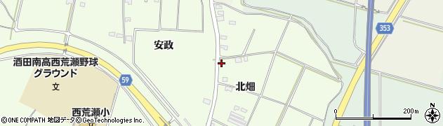 山形県酒田市藤塚北畑135周辺の地図