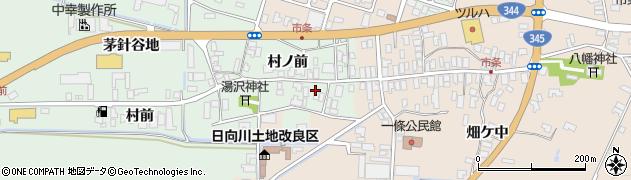 山形県酒田市法連寺村前32周辺の地図