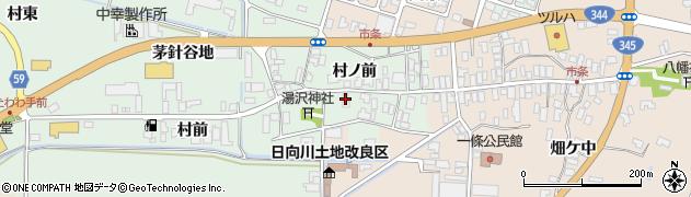 山形県酒田市法連寺村前20周辺の地図