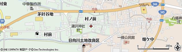 山形県酒田市法連寺村前21周辺の地図
