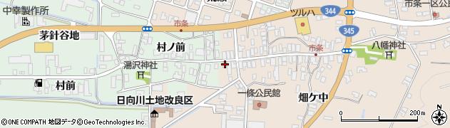 山形県酒田市市条水上42周辺の地図