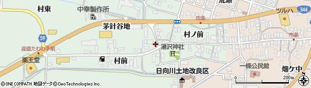 山形県酒田市法連寺茅針谷地31周辺の地図