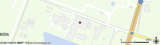 山形県酒田市宮海南浜周辺の地図