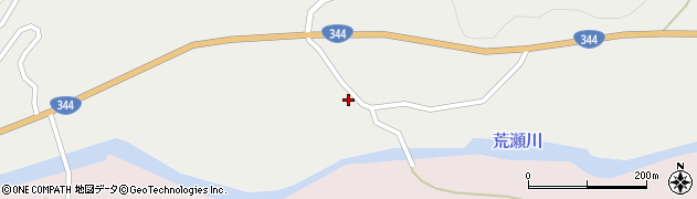 山形県酒田市大蕨二タ子115周辺の地図