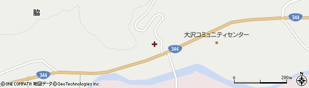 山形県酒田市大蕨下黒沢19周辺の地図