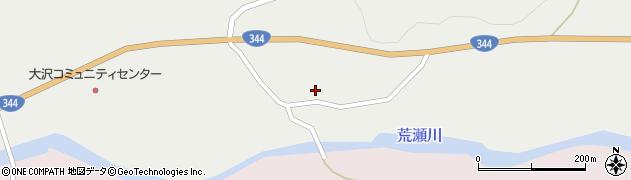 山形県酒田市大蕨二タ子56周辺の地図