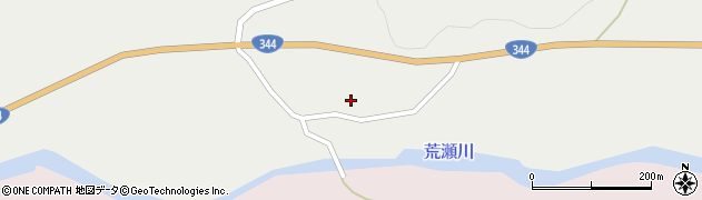 山形県酒田市大蕨二タ子49周辺の地図