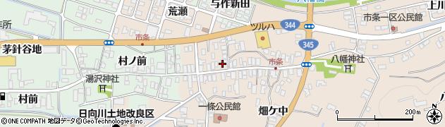 山形県酒田市市条水上51周辺の地図