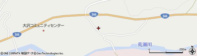山形県酒田市大蕨周辺の地図