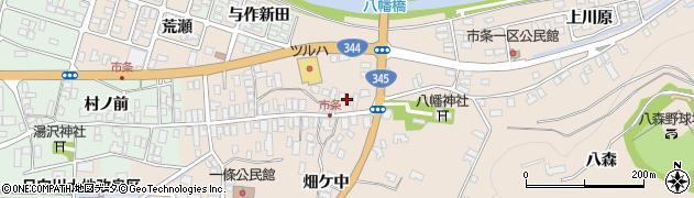 山形県酒田市市条水上62周辺の地図