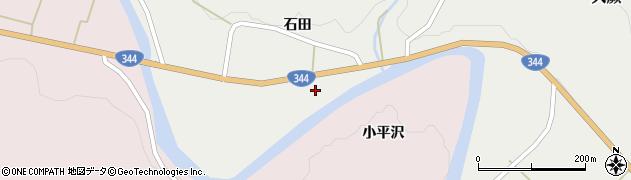 山形県酒田市大蕨石田前41周辺の地図