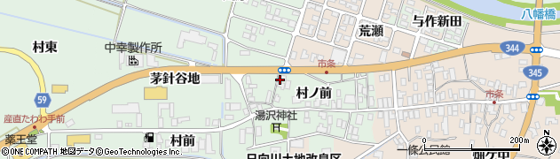 山形県酒田市法連寺村ノ前22周辺の地図