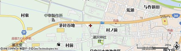 山形県酒田市法連寺茅針谷地57周辺の地図
